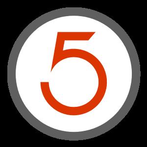 take five design