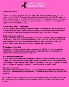 Breast Cancer Awareness Template1 - Blog