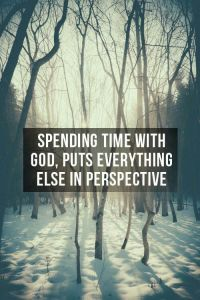 Spending Time With God